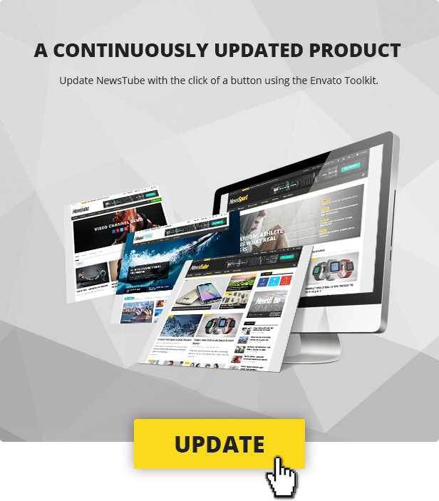 modern theme embedded with the latest and most popular features