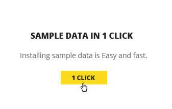 newstube one click install sample data