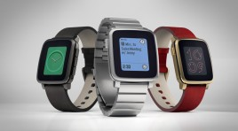 PEBBLE TIME STEEL IS ON TRACK TO SHIP IN JULY