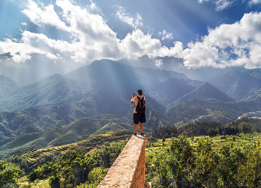 LAOCAO MOUNTAIN IN THE NORTH OF VIETNAM