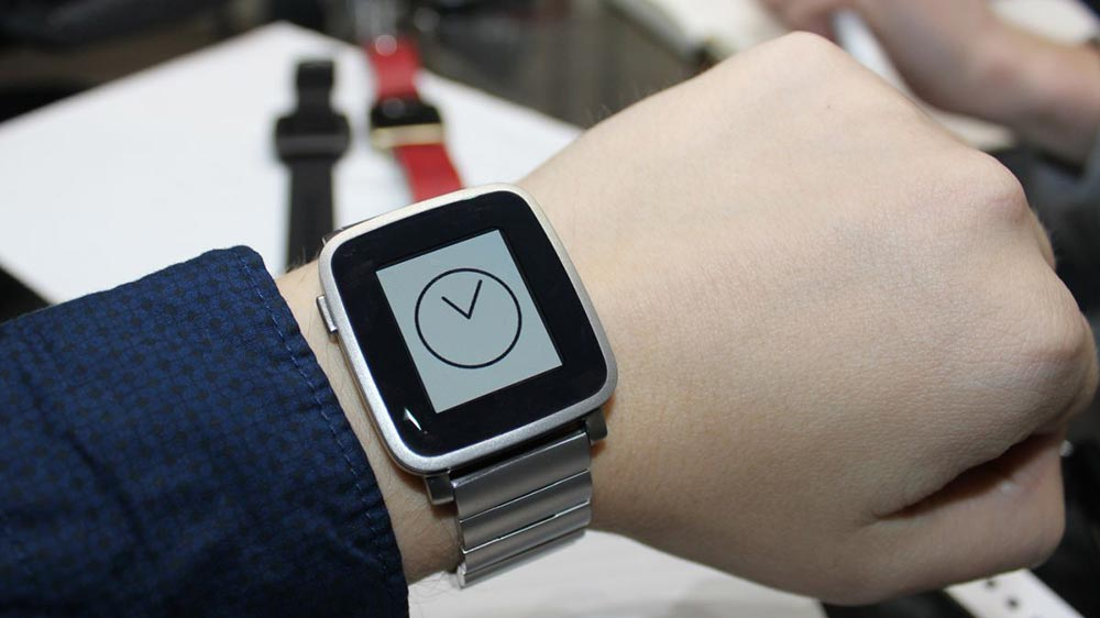 Pebble time steel is the most beautiful smartwatch you can own today