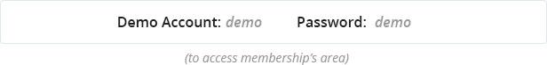 access membership area account